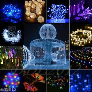 10-200LED-Solar-Battery-Powered-String-Fairy-Lights-Wedding-Xmas-Party-Decor