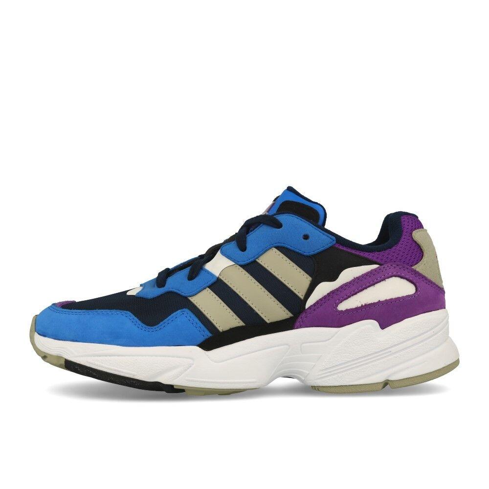 Adidas Yung-96 Collegiate Navy Sesame True Blau Schuhe Turnschuhe Blau Lila Zuverlässige Leistung