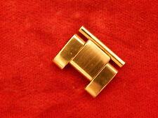 ROLEX 18K GOLD ELECTROPLATED 19MM 78351 OYSTER BAND BRACELET STRAP BUCKLE LINK