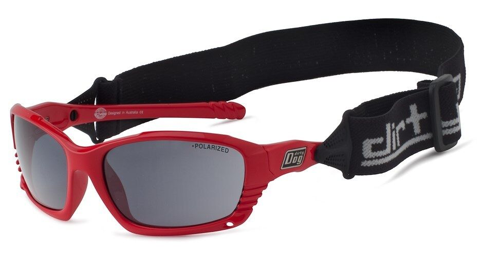 DIRTY DOG RED FURIOUS WET SUNGLASSES POLARISED SPORTS RUNNING CYCLING FRAME