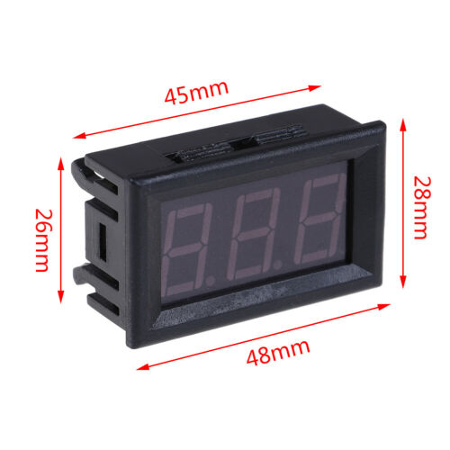 50~110°WLTE Digital 12V temperature monitoring thermometer meter w// temp probe