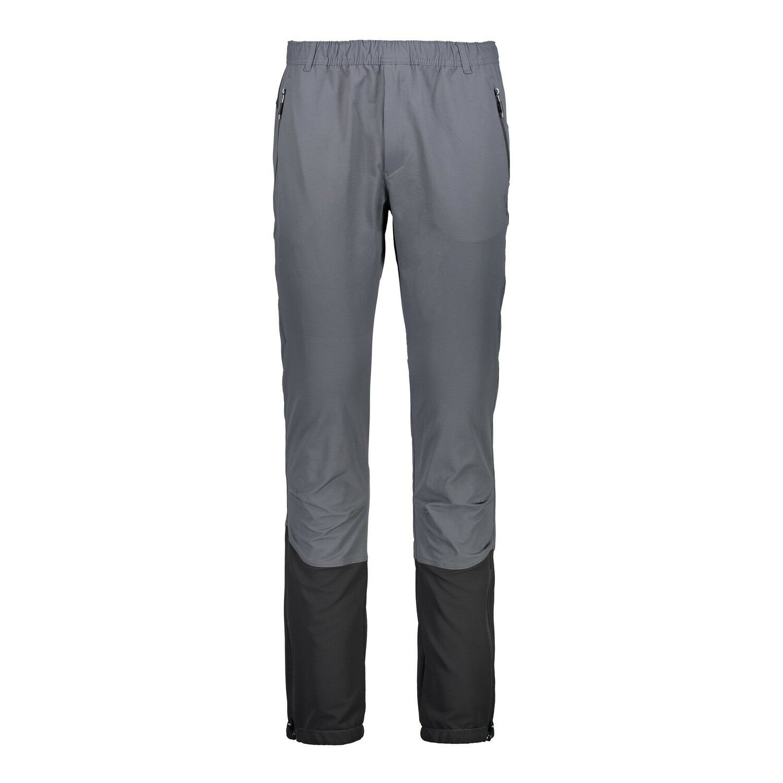 Funzione CMP Pantaloni wanderhosen si Long Pant Grigio Traspirante Stretch
