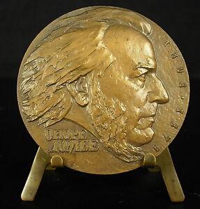 Medaille-caricaturiste-politique-peintre-et-sculpteur-Honore-Daumier-58-mm-Medal