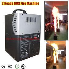 DMX Fire Machine With Two Fire Shoot Spray Fire Machine 200W Powerful Safety Use