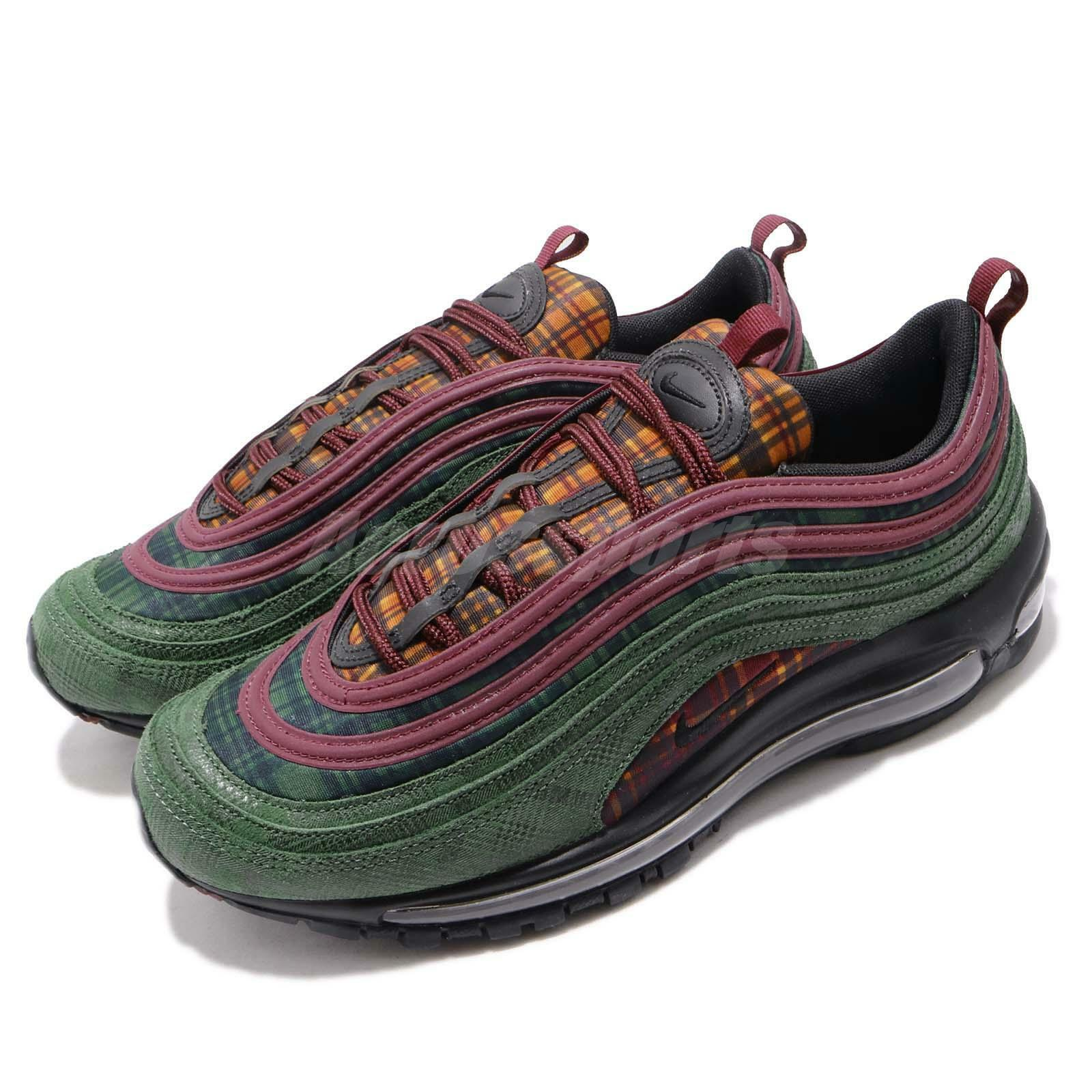 Nike Air Max 97 NRG Jacket Pack Red Midnight Sptuce Men shoes Sneaker AT6145-600
