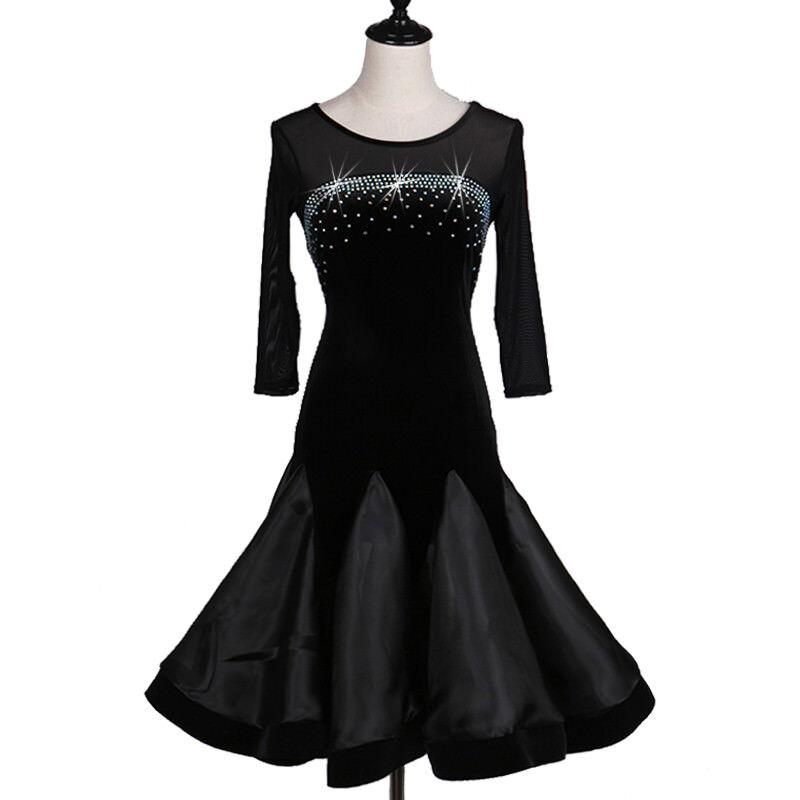 NEU Latino salsa Kleid TanzKleid Standard LatinaKleid Latein Turnierkleid FM293