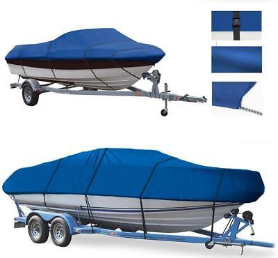 BLUE BOAT COVER FITS Bayliner 185 Capri 2007