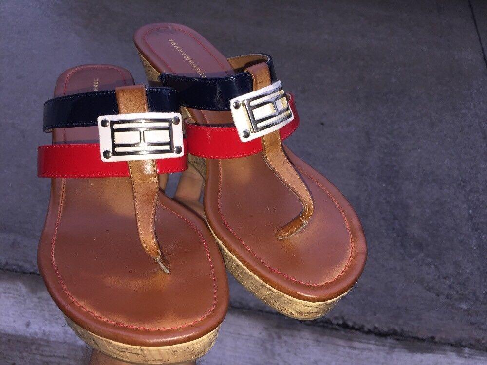 SALE @ TOMMY HILFIGER Mili Sandals Clogs Wedges H… - image 5