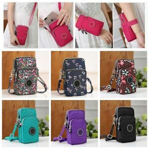 Cross-body-Mobile-Phone-Shoulder-Bag-Pouch-Case-Belt-Handbag-Purse-Wallet-New