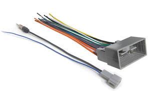 Car-Stereo-Wiring-Combo-Harness-Antenna-Adapter-FIts-2009-2016-Select-HONDA