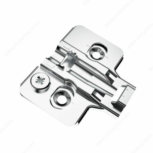 RCS Mounting Plates Richelieu RCS00520 Screw-in plates with eccentric adjustme