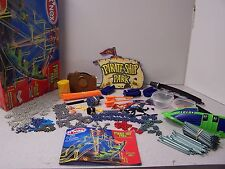 K'NEX PIRATE SHIP PARK Thrill Rides Builds 3 Motorized Models KNEX 462 Piece box