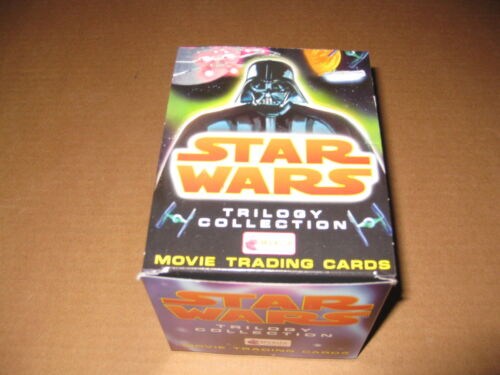 Star Wars Trilogy Merlin UK Edition Trading Card Box