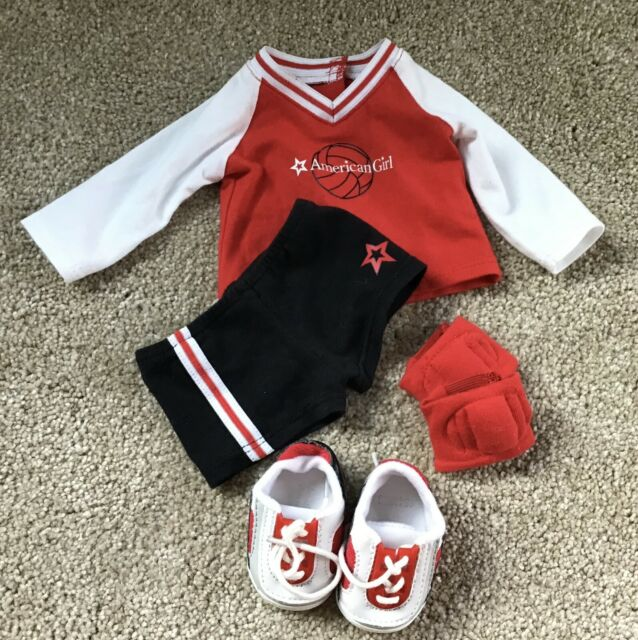 American Girl Doll Red Volleyball Outfit Retired