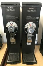 2 Bunn Commercial Coffee Grinders Save 60 Off New 625 Great Condition 22100