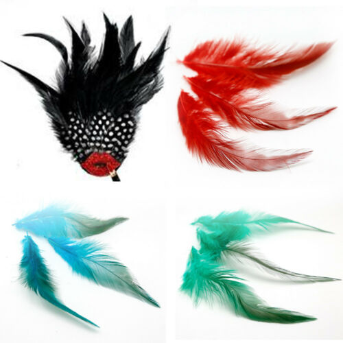 50Pcs Fluffy Rooster Tail Feathers For DIY Craft//Dress//Carnival Party Decoration