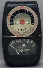 GENERAL ELECTRIC DW-68 Exposure Meter Photo Photography Vintage Lightmeter