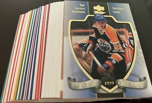 1999-00 McDonald's Upper Deck Retro Collection Gretzky Years.