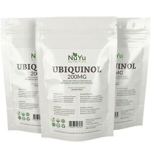 Pure-Ubiquinol-200mg-Max-Strength-Softgels-Kaneka-CoQ10-Bioavailable-Form-of-Q10