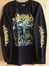 Toxic holocaust Long sleeve L shirt Thrash metal Venom Slayer Bulldozer Exodus