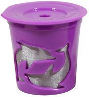 Keurig® 2.0 Coffee Filter Basket Reusable K-cups Permanent Refillable Purple