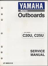 1996 YAMAHA MARINE OUTBOARD C20U & C25U SERVICE MANUAL  (738)