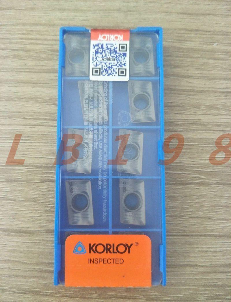10Pcs NEW- KORLOY CNC blade APXT1604PDSR-MM CX282
