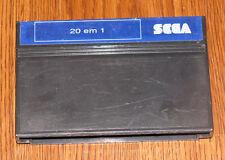 20 em 1 (Sega Master System) Brazil exclusive, Tec Toy TecToy, Import