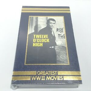 TIME LIFE Greatest World War 2 VHS Movies TWELVE O'CLOCK HIGH Gregory Peck 1992