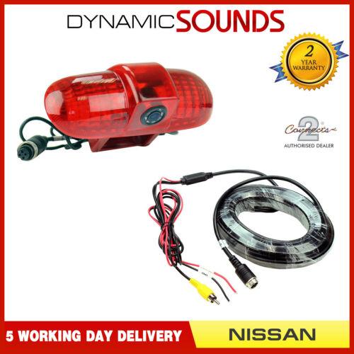 CAM-NS3 coche cámara de visión trasera inversa de luz de freno para NISSAN PRIMASTAR 2001-2014