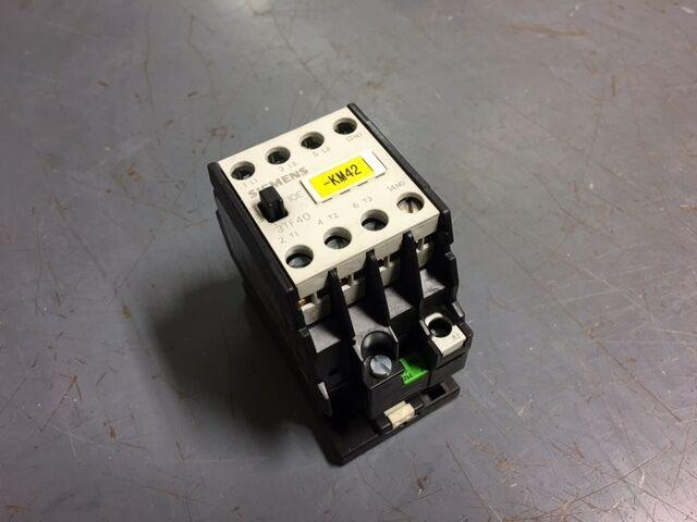 siemens contactor 3tf40 110 volt coil ac 3tf4010 0a tested ebay rh ebay com