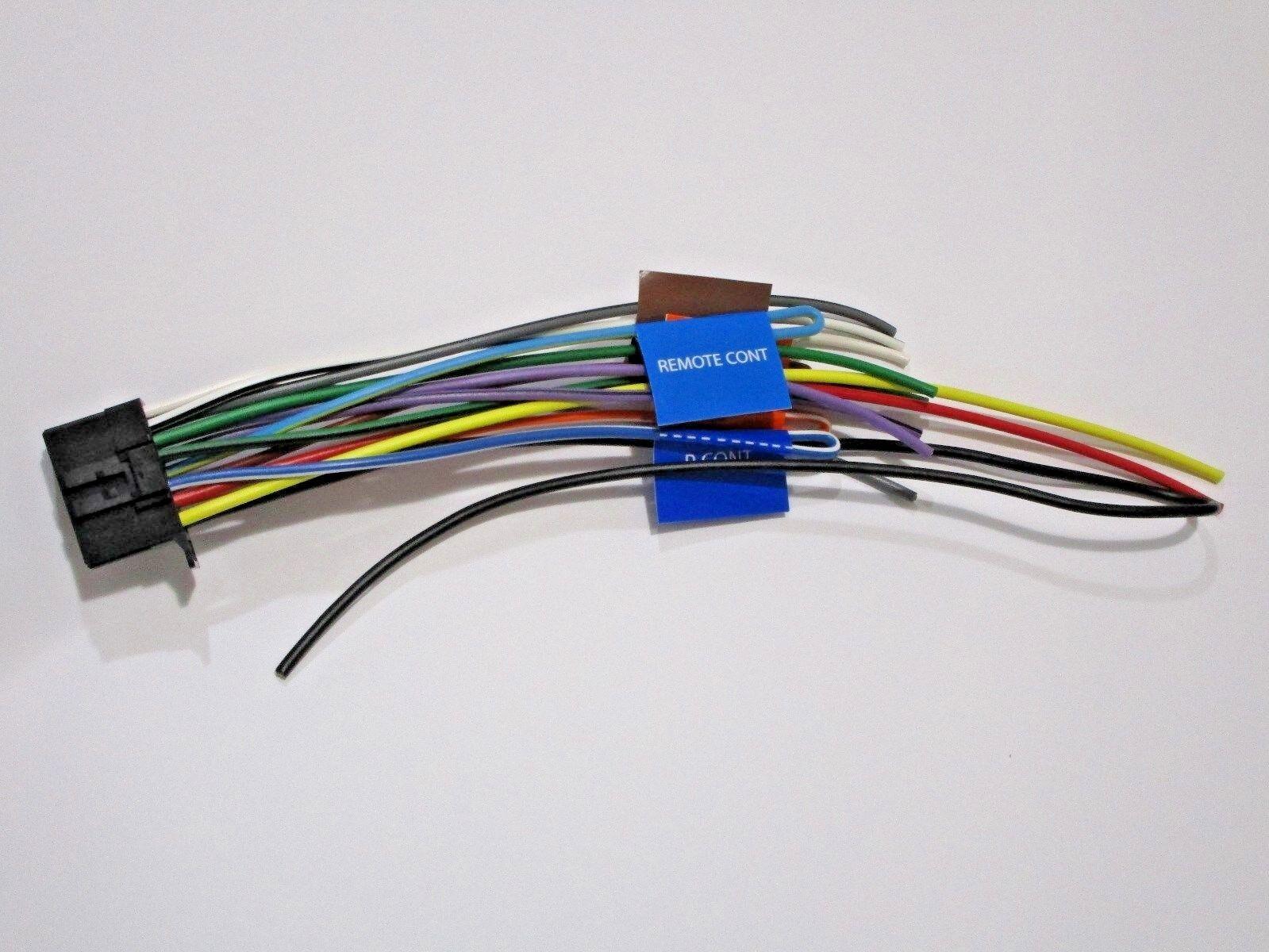 Original Kenwood Ddx574bh Wire Harness Oem W17 Ebay Packaging Norton Secured Powered By Verisign