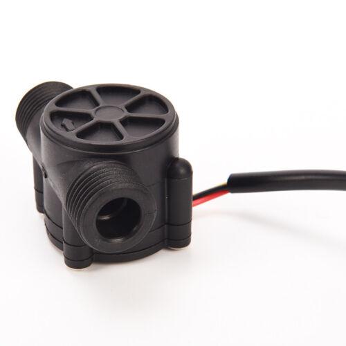 Wasser Fließen Sensor Kontrolleffekt Durchflussmesser Halle Für Arduino New HN