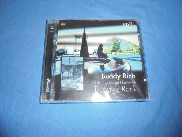 "Buddy Rich Featuring Lionel Hampton ‎""Buddy's Rock"" CD MEMO 1999 - SEALED"