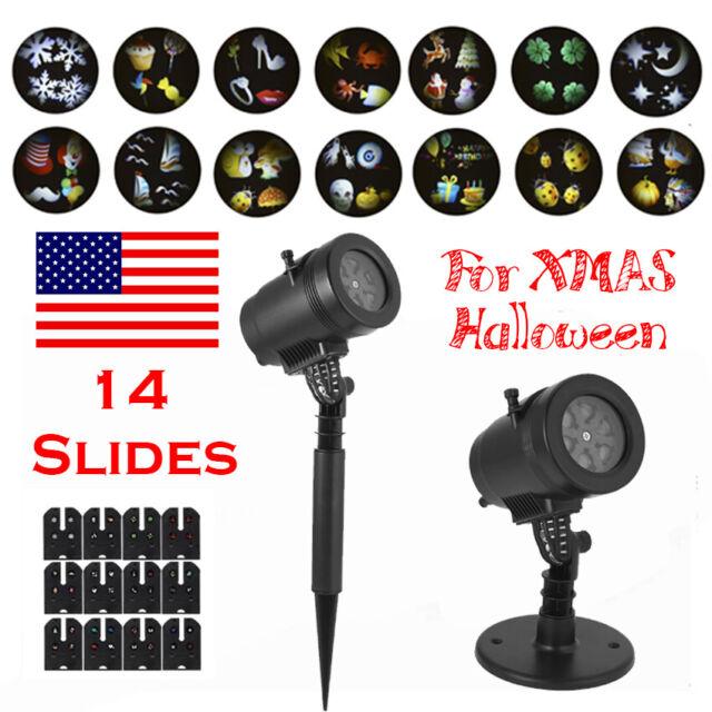 Christmas Laser Decorative Lighting Projectors Projector Lights Halloween Led For Sale Online Ebay