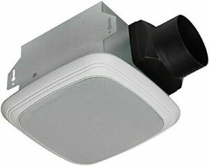 New Home Netwerks Bluetooth Bath Bathroom Exhaust Fan Amp Speaker Combo 7130 04 Bt 820633953678 Ebay