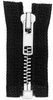 Replacement Jacket Style Zippers W/ Real Nickel Teeth (uses 5m-5 Slider)