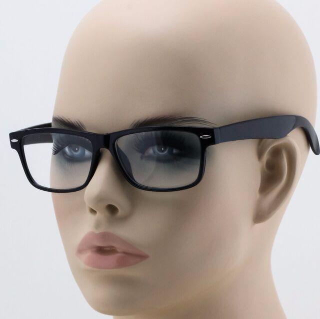 5fd5582a6aa Men s Women Retro Vintage Nerd Style Clear Lens Eye Glasses Black Fashion  Frame