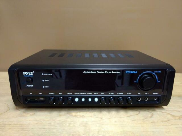 Pyle PT390AU 300//W Digital Stereo Receiver System with USB//SD Memory Readers