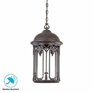 Old Bronze Outdoor Hanging Light