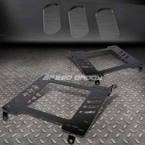 FOR 90-91 CRX//CR-X ED8//ED9 2X RACING//BUCKET SEAT BASE MOUNT MILD STEEL BRACKET