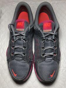 8dd352fe4fe71 Nike Flex TR2 Women s Gray Mesh Athletic Shoes 511332-016 Size-12