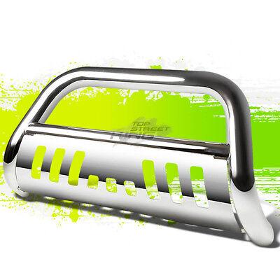 Chrome Bull Bar Bumper Grille Guard Skid Plate For Chevy 07-14 Suburban 1500