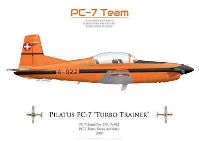 PC-7 Team by G. Marie Print Pilatus PC-7 A-922