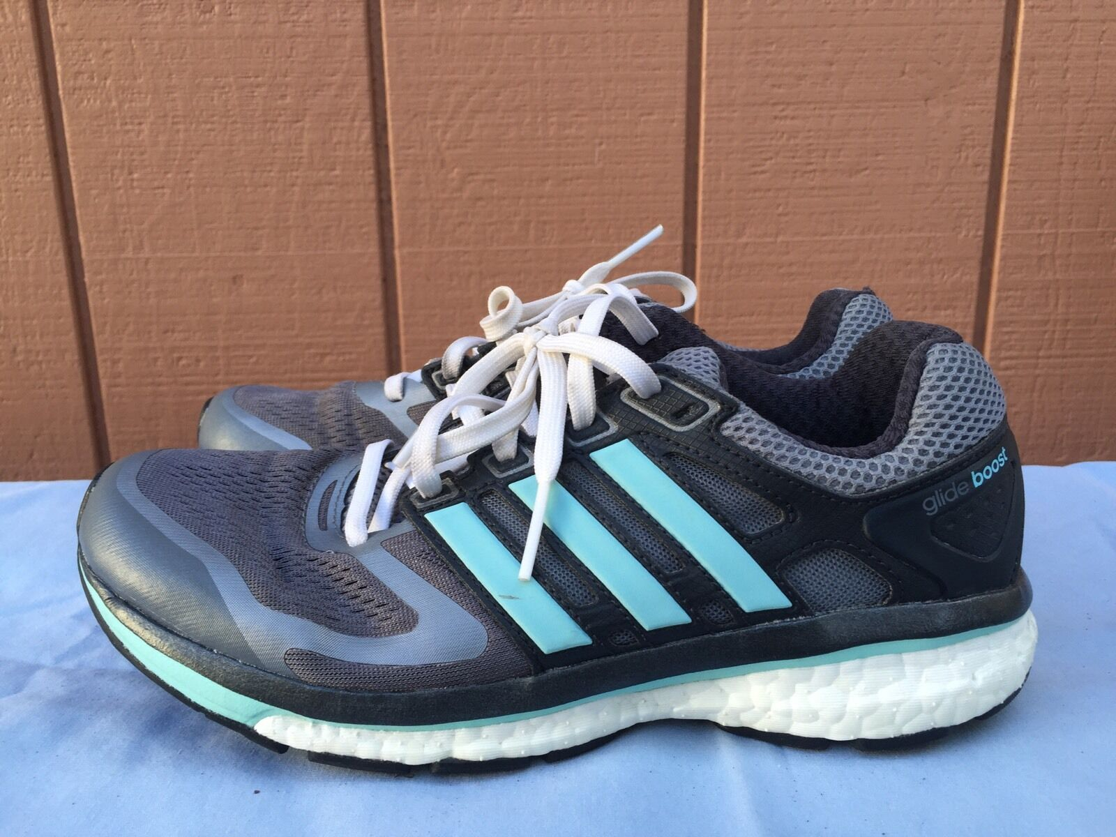 Adidas SuperNova Boost Glide US 6 Gray Running Shoes US Glide Sz W 8.5 M 7 /3 11aba7
