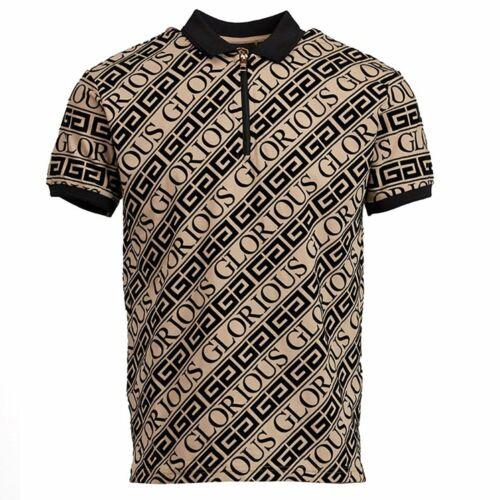 Glorious Gangsta Bantu Stone Flock Logo Polo T-shirt