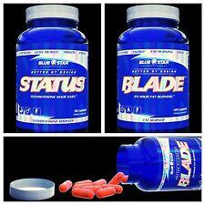 Blue Star Status Pharmaceutical Grade Testosterone Booster + Blade Fat Burner