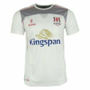 Nice Kukri Ulster Rugby Athletic Passform Fitness T-shirt 17/18 Men's Clothing Weiß Diversified Latest Designs