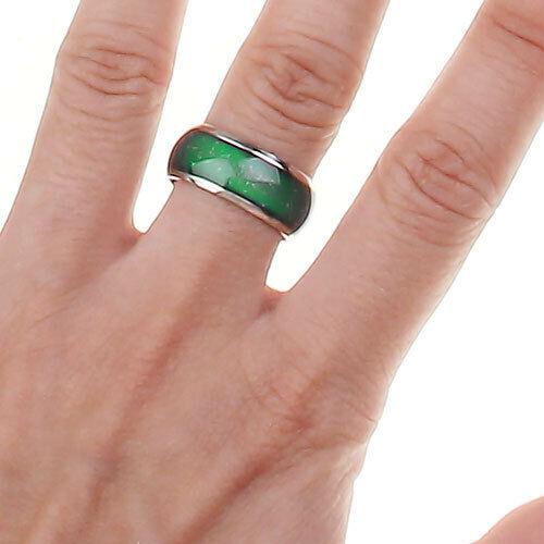 erstaunliche Launne Stimmung Gefühl Ring veränderbar Farbe US-Größe 6.5 Unisex