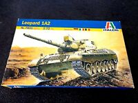 Italeri Leopard 1A2 Tank Plastic Model Kit #7031 1 72 NEW Toys